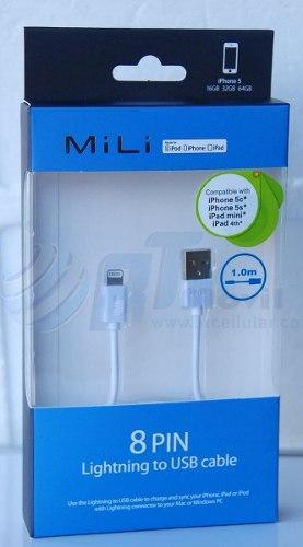 Cable Datos Usb Iphone Iphone 7//6/5 Ipad Original Certifica