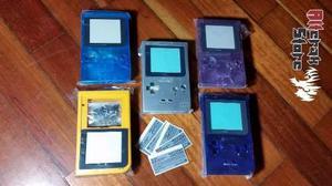 Carcasas Nuevas Repuesto Game Boy Pocket Gbp