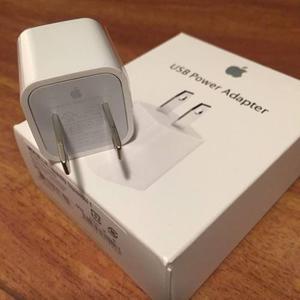Cargador Iphone Original 6s 6 5s 4s Ipod Ipad Mini Apple 5w