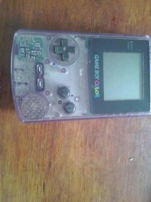 Game Boy Color Violeta Transparente Super Raro