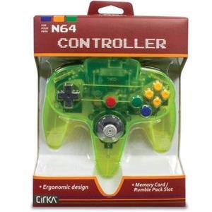 Hyperkin Cirka N64 Controlador M-cy, Cianina
