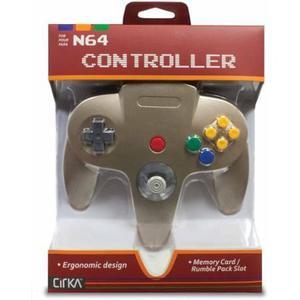 Hyperkin Cirka N64 Controlador M-gd, Oro