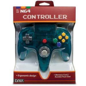 Hyperkin Cirka N64 Controlador M-tq, Turquesa