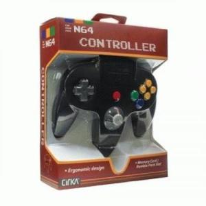 N64 Cirka Controller - Negro
