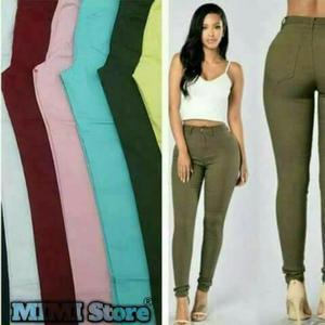 Pantalon Tiro Alto
