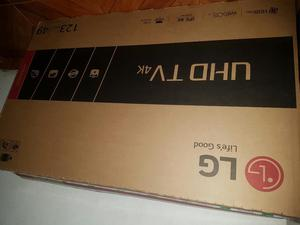 Tv 49 Lg 4k Smart Tv Nuevo
