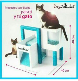 Gimnasio para Gatos Diseño Exclusivo - Bogotá