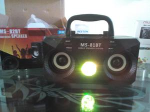 Parlante Bluetooth Con Luces Led 10W
