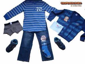 Vestido Para Niño 6 Piezas + Bubble Gummers