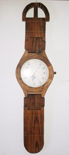 Reloj De Pared Con Forma De Reloj De Pulso