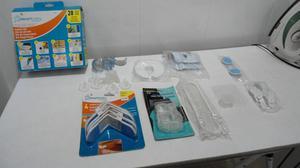 Varios accesorios de seguridad para bebes