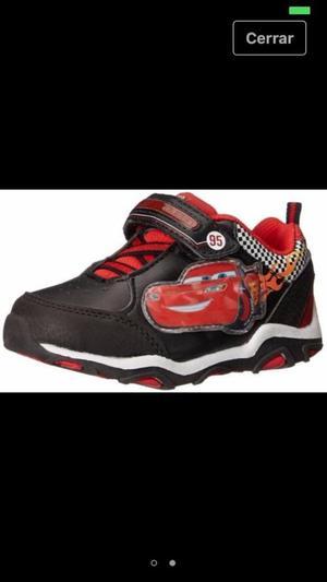 Zapatos de Cars Niño Disney Boys Sneaker Lightning Mcqueen