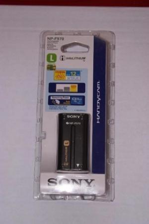 Bateria Pila Sony L Np-f970 Luz Led Camaras Filmadoras