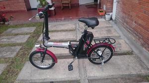 Bicicleta eléctrica plegable en perfecto estado!!