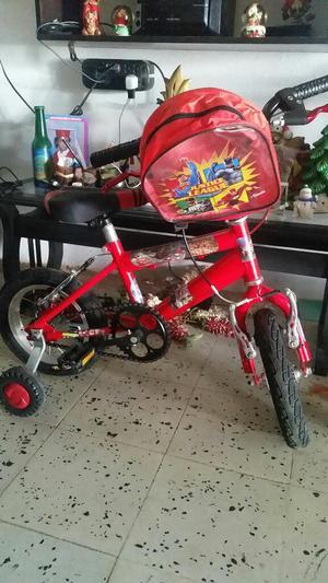 Bicicleta con Ruedas
