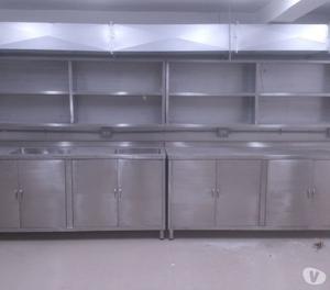 Venta de muebles en acero inoxidable posot class for Cocinas de acero inoxidable para restaurantes