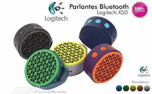 Parlante Altavoz Bluetooth Logitech X50 Pequeño Y Potente