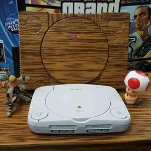 Consola Playstation One 2 Controles Lente Original