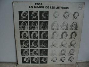 Lp Vinilo Les Luthiers Peor Lo Mejor