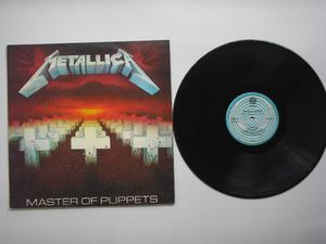 Lp Vinilo Metallica Master Of Puppets Printed Colombia