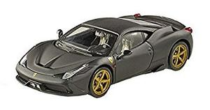 Coleccionable Hot Wheels Elite Ferrari 458 Speciale, Negro