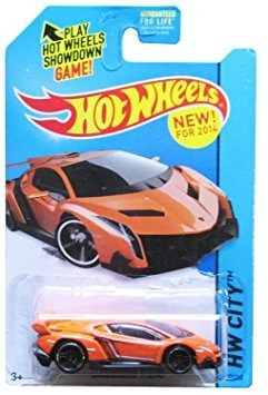 Coleccionable  Hot Wheels Hw Ciudad Lamborghini Veneno