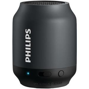 Philips Bt50b/37 Bluetooth Altavoz Portátil, Negro