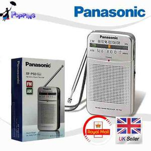 Radio Panasonic De Bolsillo De 2 Baterías Aa