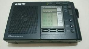 Radio Sony Multibandas Made In Japón Portátil Digital