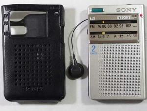 Radio Sony Tipo Tarjeta Coje Televisión Am/fm*