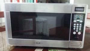 Vendo horno microondas Usado Marca Haceb acerco inoxidable