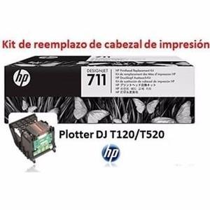 Cabezal De Impresion Hp 711 (c1q10a) Plotter Hp T120-t520