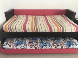 Vendo cama sencilla con cama auxiliar posot class for Colchon cama sencilla