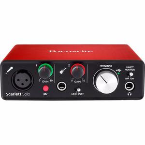 Focusrite Scarlett Solo, Interface De Audio Usb, Usada!