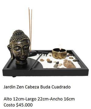 jardin zen cabeza buda cuadrado yumbo