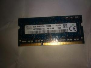 Memoria Ram Ddr3 de 2 Gb para Portatil
