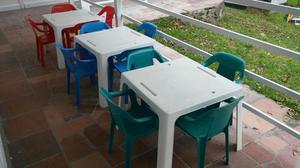 Sillas y mesas para cafeterias bucaramanga posot class for Mesas para restaurante usadas