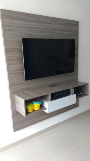 Mueble flotante para tv posot class for Muebles para led 50 pulgadas