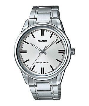 Reloj Casio Mtp_v005d_7a Acero Inoxidable Plateado Hombre