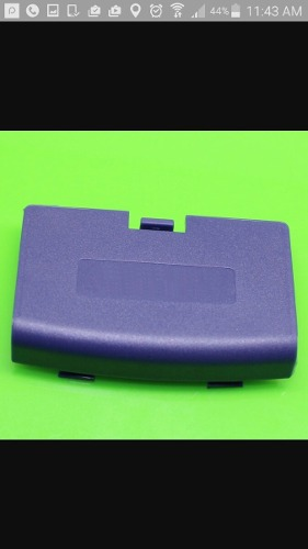 Tapa Para Baterias - Gameboy Advance Gba - Nueva - Morada