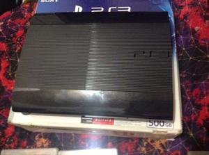(playstation3 Super Slim) 2 Controles 15 Juegos(6 Físicos)