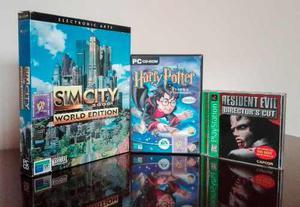 Colección De Videojuegos Originales Para Playstation Y Pc