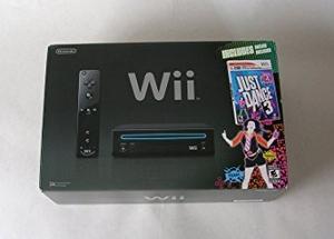 Consola Nintendo Wii Con Just Dance 3 Bundle - Negro