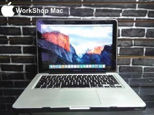 MacBook Pro, Core i5, 500 disco duro, 4gb de ram, con