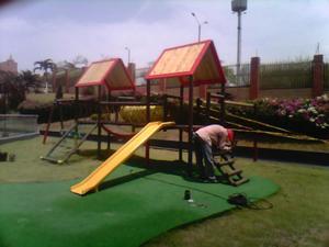 Mallas y parques