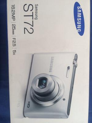 Camara Samsung St72 Color Blanco 16.2 Mp 5x Nueva