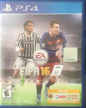 Vendo Juego Fisico Fifa 16 ps4