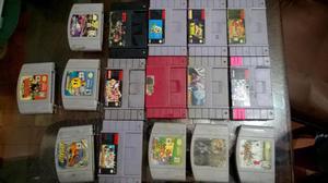 Venta Juegos SNES y N64 Consolas 8/10
