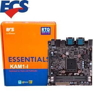 Board Ecs Elitegroup Kam1-i Am1 Mini Itx Ddr3 Hmdi Usb 3.0