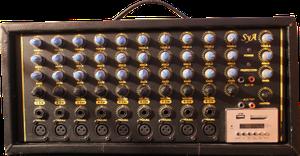 Amplificador y 2 cabinas